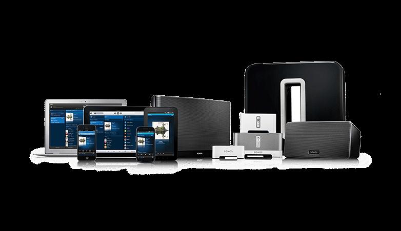 Sonos trådlös ljudsystem