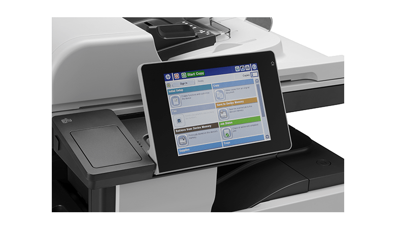 HP Easy Collect Color Screen