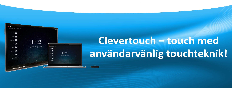 Clevertouch användarvänlig teknik