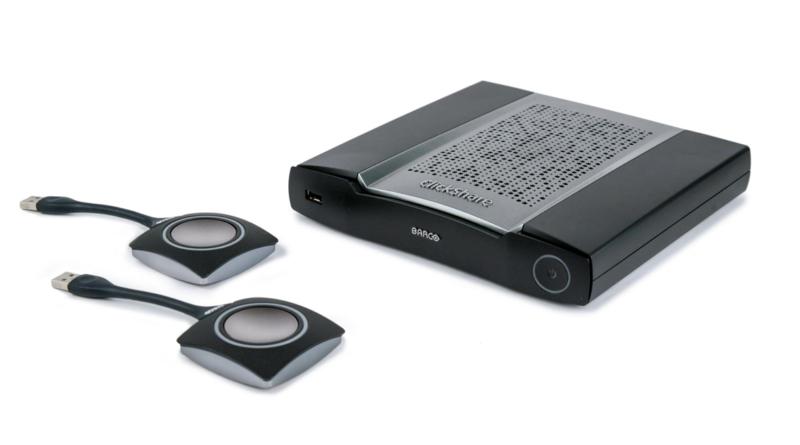 Clickshare trådlös bild- och ljudöverföring